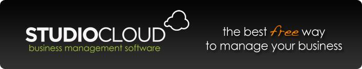 StudioCloud Business Management Software